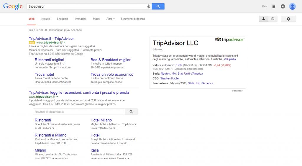 screenshot tripadvisor google