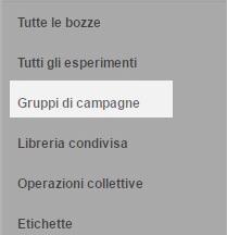 seleziona gruppi campagne adwords0